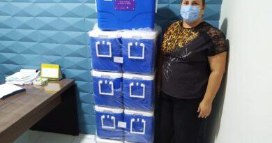 Cupira recebe doação de nove caixas térmicas com termômetro do Magazine Luiza