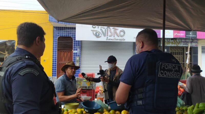 Guarda Municipal de Cupira traça novas estratégias para promover mais segurança nas feiras livres